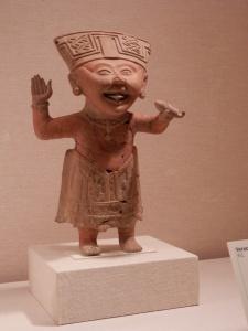 """Smiling"" figure Metropolitan Museum of Art Mexico; Remojadas 7th-8th century"