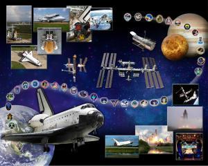 Space Shuttle Atlantis Tribute