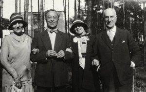 Irene Guggenheim, Kandinsky, Hilla Rebay and Solomon R. Guggenheim