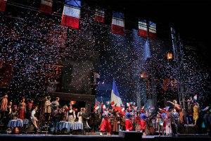 """A scene from LA Opera's 2016 production of """"La Boheme"""". (Photo: Ken Howard)"""