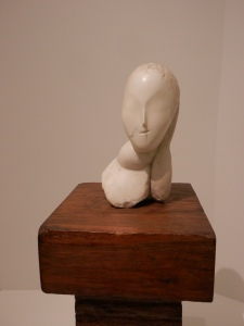 Guggenheim Museum - Muse, 1912 (Marble on oak base)
