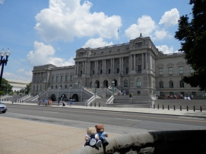 Library of Congress, Main Building (Thomas Jefferson) - West Facade