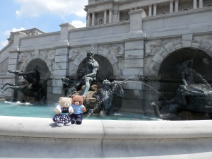 Library of Congress - Neptune Fountain, by sculptor Roland Hinton Perry (west facade of the building)