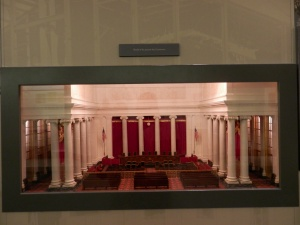 Supreme Court - Model of the Courtroom