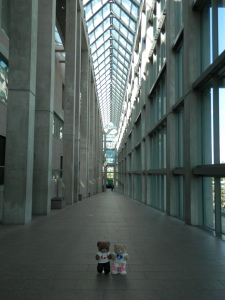 Colonnade at the National Gallery of Art