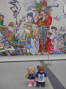 Takashi Murakami, In the Land of the Dead, Stepping on the Tail of a Rainbow @ The Broad