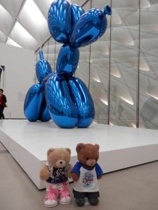 Jeff Koons, Balloon Dog @ The Broad