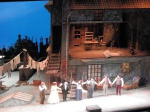 "Cast of LA Opera's 2016 production of ""La Boheme""."