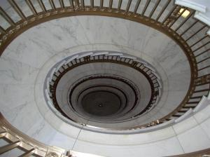 Supreme Court - Spiral Staircase