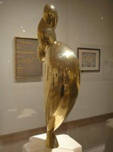 The Met - Nancy Cunard, 1932 (Polished bronze)