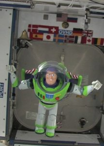 Buzz Lightyear on the ISS