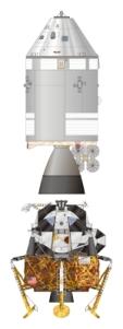 Apollo Spacecraft - Command and Service Module and Lunar Module