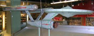 Star Trek Original Series Enterprise Model