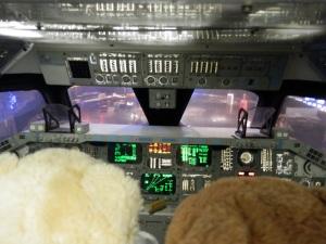 Replica Shuttle Flight Deck