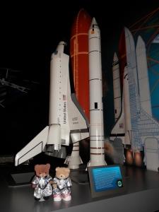 Model replica of Shuttle Endeavour