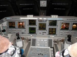 Shuttle Replica Independence Flight Deck