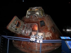 Starship Gallery -  Apollo 17 Command Module - the actual, flown Command Module, the last manned spacecraft to have travelled to the Moon.