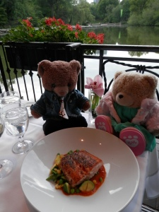 Dinner at the Boathouse, Central Park