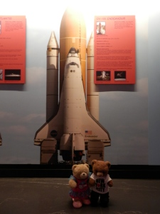 OV-105 Endeavour On public display at the California Science Centre in Los Angeles, California.