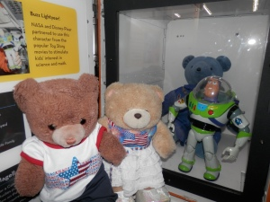 With Buzz Lightyear and Magellan T. Bear
