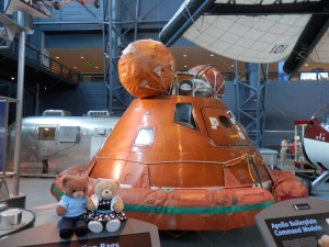 Apollo 11 Flotation Bags and Flotation Collar