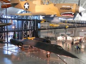 Lockheed SR-71 Blackbird, Boeing Aviation Hangar