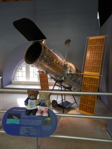 Hubble Space Telescope Model 1:5 Launch date; April 24, 1990 Launch vehicle: Space Shuttle Discovery