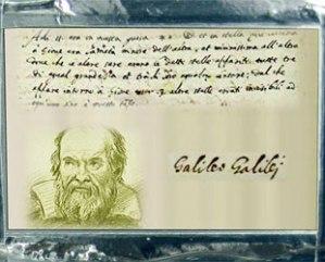 A plaque dedicated to and depicting Italian astronomer Galileo Galilei as seen on board NASA's Juno spacecraft. (NASA)