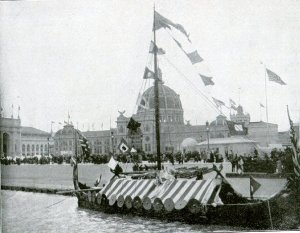 World's Columbian Exposition - Viking Ship