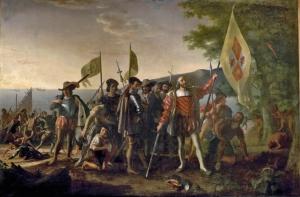 The Landing of Columbus