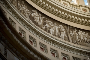 Capitol Rotunda - Frieze of American History