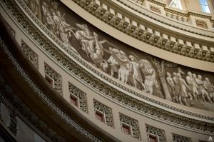 Capitol Rotunda - Frieze of American History