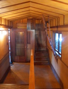 Frank Lloyd Wright Home, Oak Park - Bedroom Passage Hallway