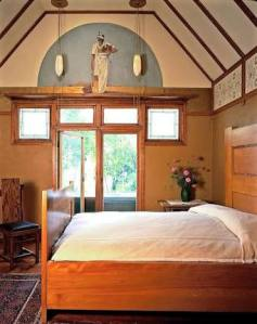 Frank Lloyd Wright Home , Oak Park - Bedroom