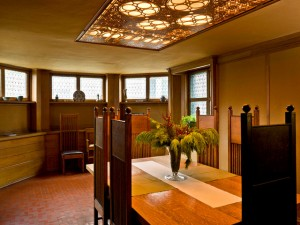 Frank Lloyd Wright Home, Oak Park - Dining Room