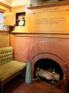 Frank Lloyd Wright Home, Oak Park - Fireplace