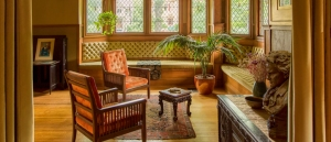 Frank Lloyd Wright Home, Oak Park - Living Room
