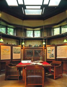 Frank Lloyd Wright Studio, Oak Park - Library