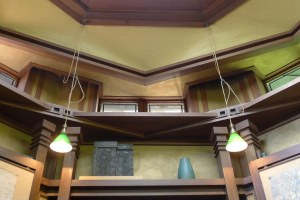 Frank Lloyd Wright Studio, Oak Park - Library detail