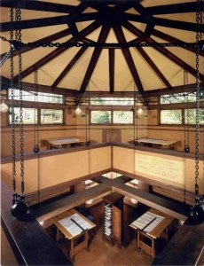 Frank Lloyd Wright Studio, Oak Park - Drafting Room