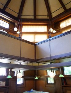 Frank Lloyd Wright Studio, Oak Park - Drafting Room Balcony