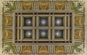 Library of Congress - Great Hall Ceiling