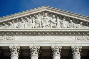 Supreme Court - West Pediment