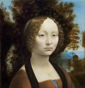 Ginevra de' Benci, by Leonardo da Vinci