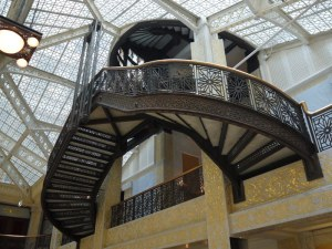 Rookery Building Lobby Stairwell