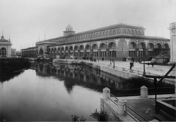 World's Columbian Exposition - The Transportation Building