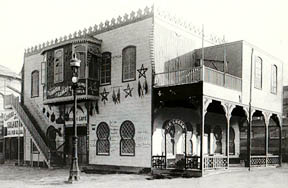 World's Columbian Exposition - Cafe in Turkish Village