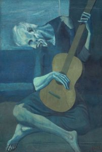 The Old Guitarist, Pablo Picasso (1903-04)