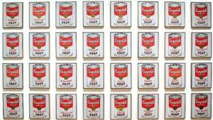 Andy Warhol, Campbells Soup Cans, 1962