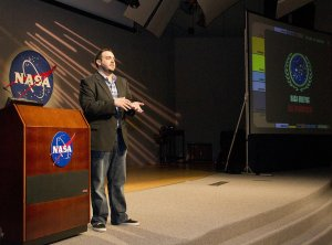 Prof. Rotolo presents a special session of #TrekClass at NASA's Johnson Space Center in Houston, TX